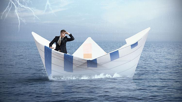 Homem no Barco de Papel