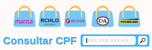 Consulta CPF - negociação Roupas