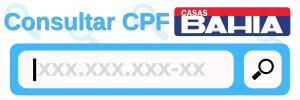 Consulta CPF - negociação Casas Bahia