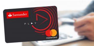 Cartão Play, o novo cartão de crédito do banco Santander